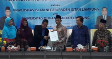 UM Lampung dan UIN Eratkan Hubungan