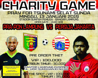 Ridho Sambut Charity Game