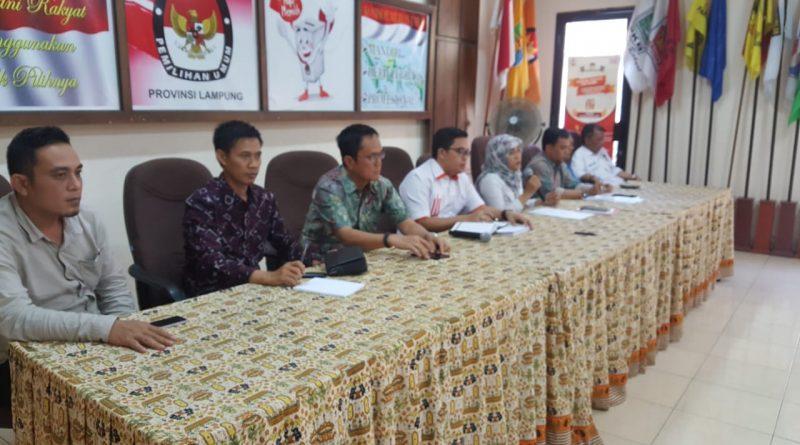 Soal Esti, KPU Lampung Putuskan 3 Poin Sikap Penting