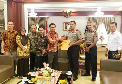 KPU Lampung Bangun Sinergisitas dengan Polda