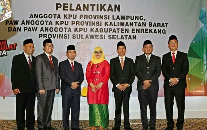 KPU Lampung Ambil Alih Tugas KPU Kab/Kota