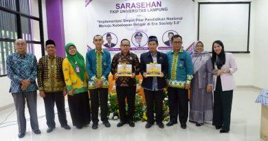 FKIP Unila Tingkatkan Kompetensi dan Profesionalisme Guru Hadapi Era Society 5.0