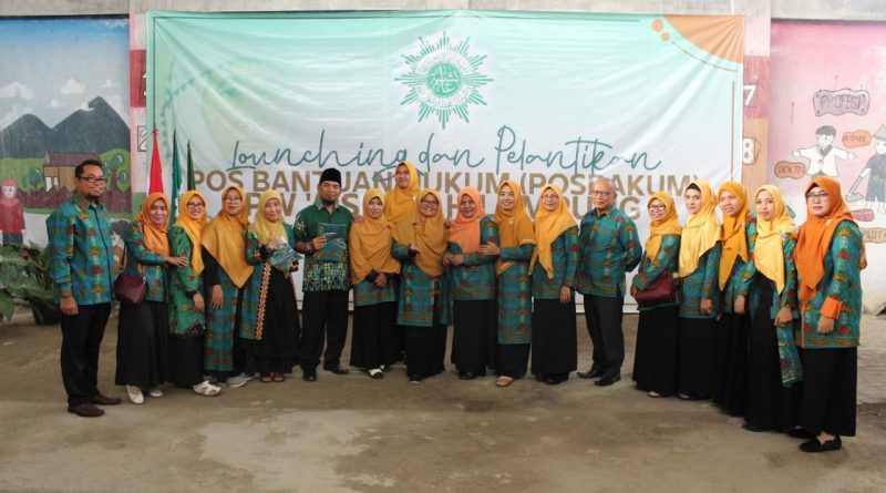 Pengurus Posbakum Aisyiyah Wilayah Lampung Resmi Dilantik
