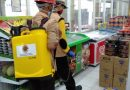Kwarcab Pramuka Bandarlampung Lakukan Penyemprotan Desinfektan