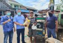 Demokrat Lampung Bagikan Ribuan Sembako ke Warga