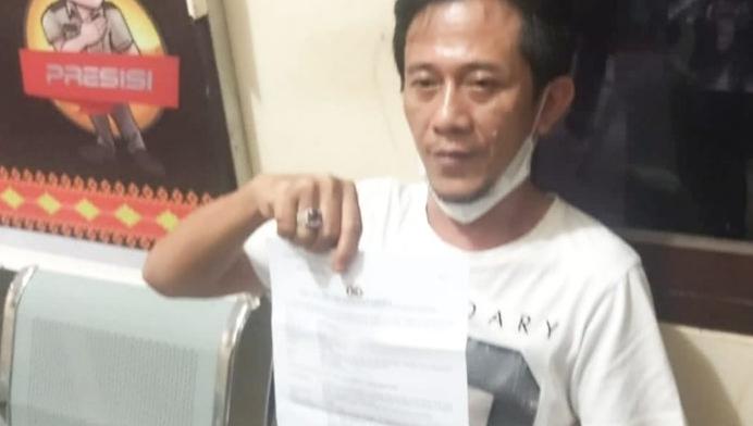 Ketua DPRD Lampura Aniaya Wartawan