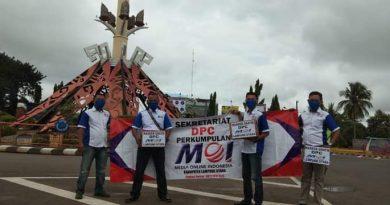 DPC MOI Lampura Desak Pengusutan Pembunuhan Mara Salem